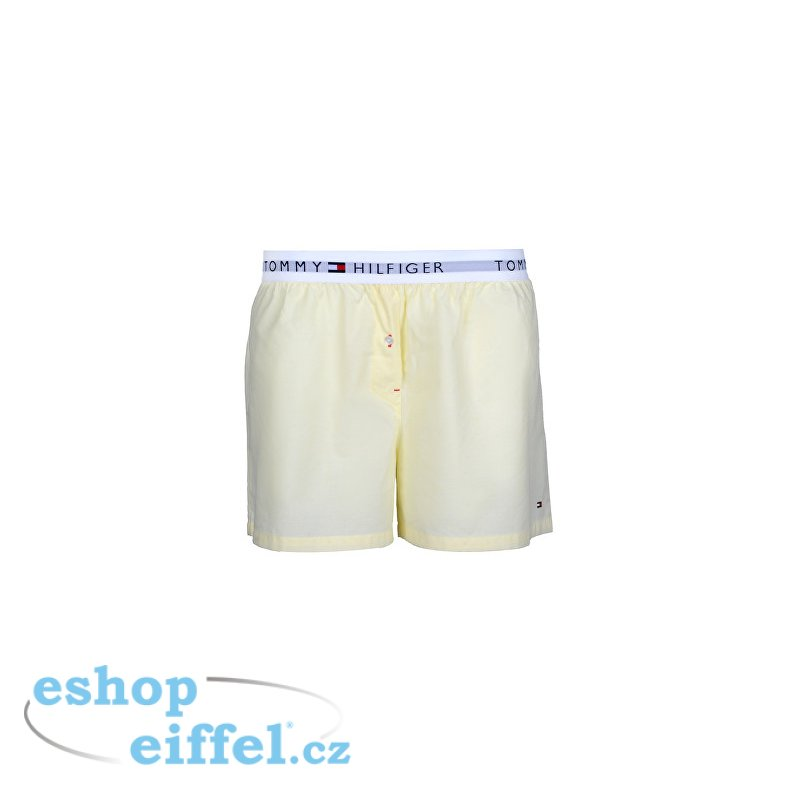 Dámské boxerky Woven Boxer End On End Yellow Cream UW0UW00691-708 -  Velikost  S - Tommy Hilfiger  83ff9866ee
