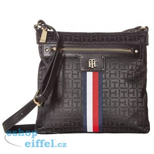 0fe6d50db7 Tommy Hilfiger. Dámská crossbody kabelka Palmer North South Crossbody  Black. VI.